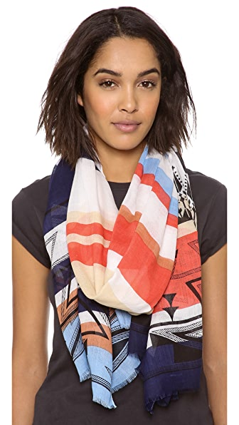 Twelfth St. by Cynthia Vincent Tribal Stripe Scarf