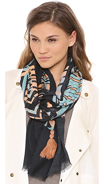Twelfth St. by Cynthia Vincent Patterned Scarf