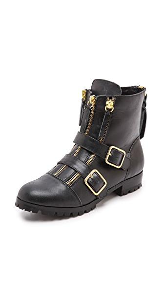 Twelfth St. by Cynthia Vincent Darby Buckle Booties