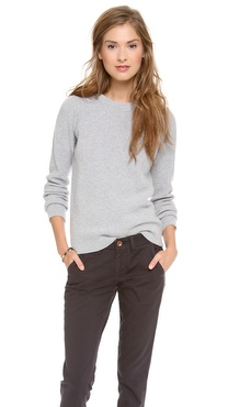 The West is Dead Crew Neck Wool Sweater