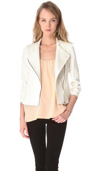 Twenty Quilted Trim Jacket from shopbop.com