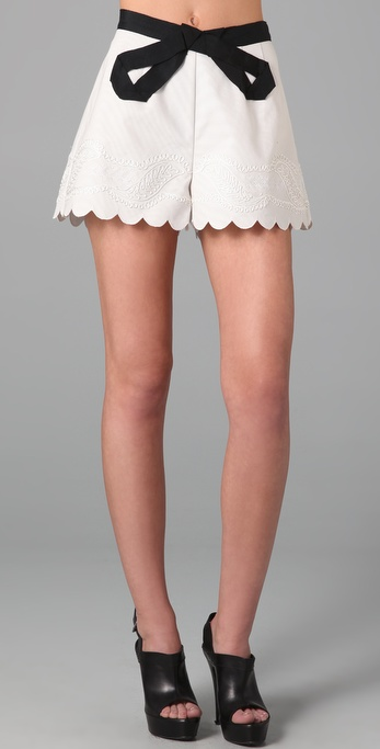 Twenty8Twelve Driben Bow Shorts