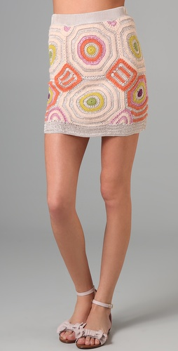 Twenty8Twelve Auriole Crochet Skirt