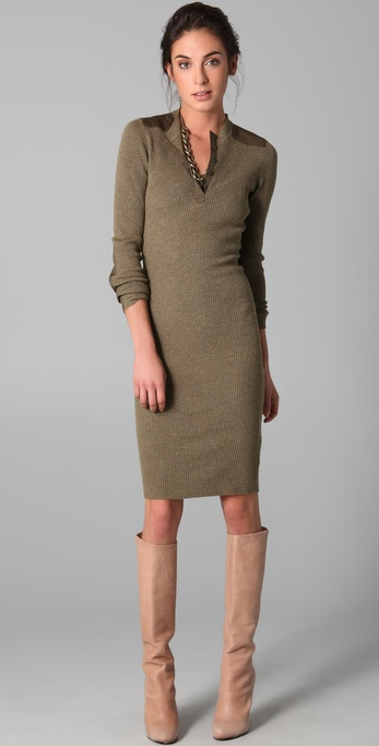 Twenty8Twelve Burnette Rib Sweater Dress