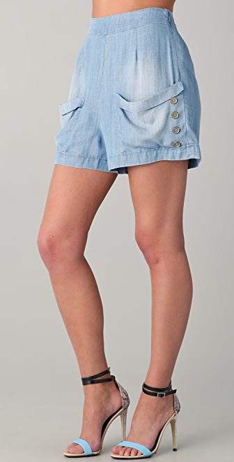 Twenty8Twelve Ackland Chambray Shorts