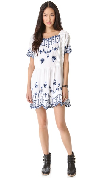 Twenty8Twelve Poupee Embroidered Dress