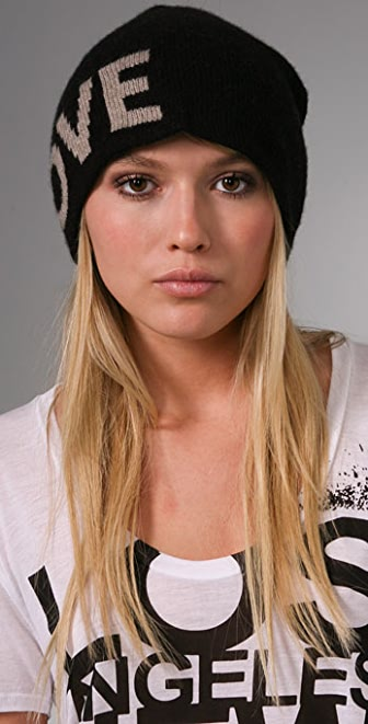291 It's Only Love Cashmere Beanie