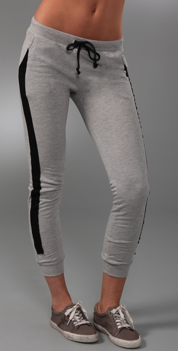 291 Slim Pants with Contrast Patch