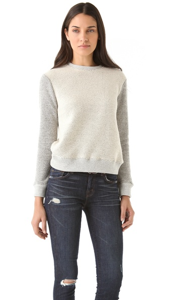 291 Long Sleeve Cross Back Pullover
