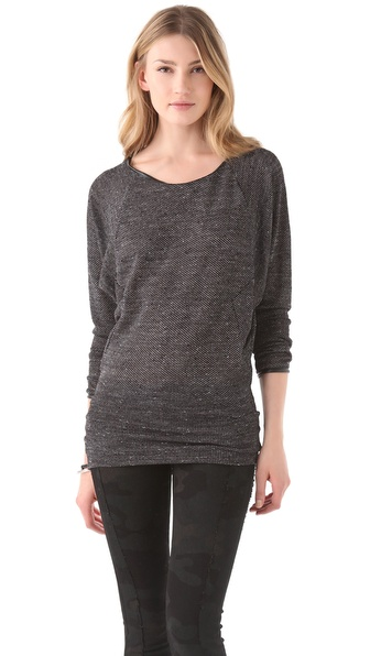 291 Seamed Dolman Tunic