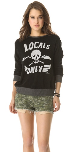 Shop 291 Locals Only Cross Back Pullover and 291 online - Apparel,Womens,Sweaters,Pull_Over, online Store