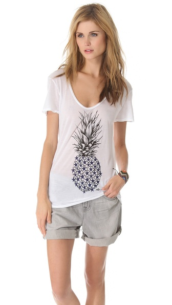 291 Pineapple Short Sleeve Tee