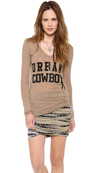 291 Urban Cowboy Asymmetrical Top