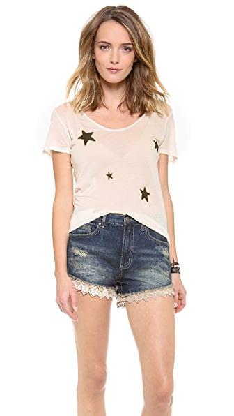 291 Allover Stars Short Sleeve Tee