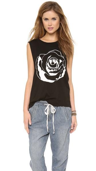 291 Rose Muscle Tunic