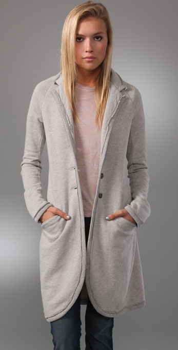 TEXTILE Elizabeth and James Fleece Duster