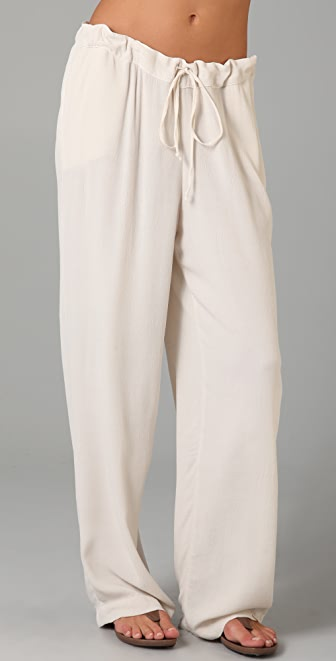 TEXTILE Elizabeth and James Wide Leg Pants