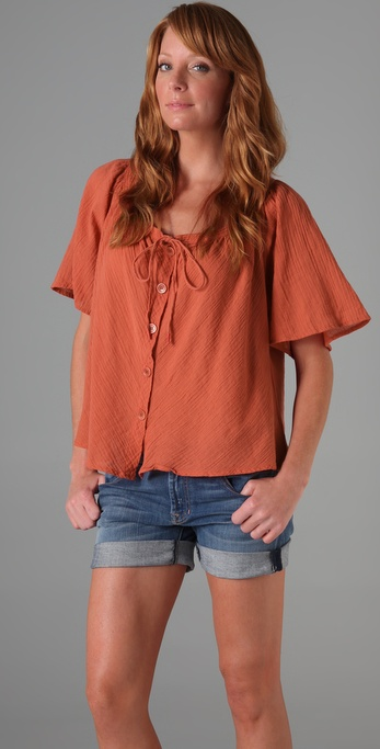 TEXTILE Elizabeth and James Pia Top