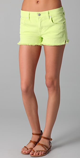 TEXTILE Elizabeth and James Ruby Cutoff Shorts