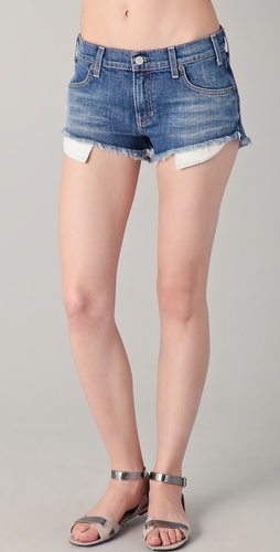TEXTILE Elizabeth and James Dixon Jean Shorts