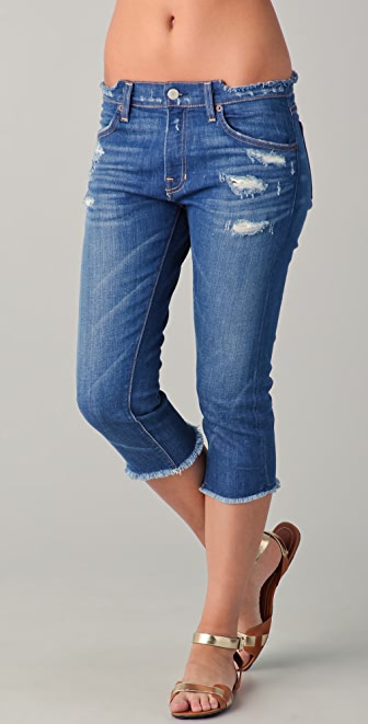 TEXTILE Elizabeth and James Cassidy Crop Jeans