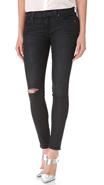 TEXTILE Elizabeth and James Debbie Destructed Jeans