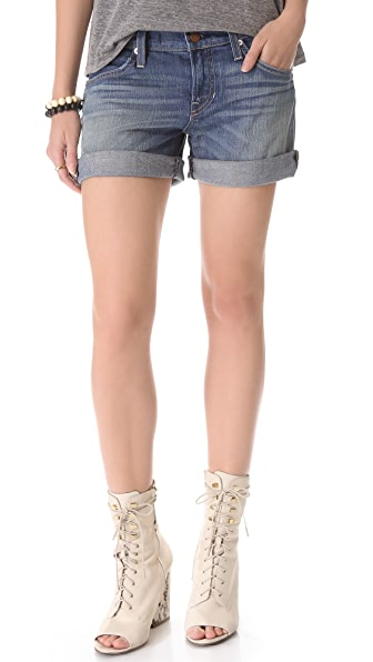 TEXTILE Elizabeth and James Nell Denim Shorts