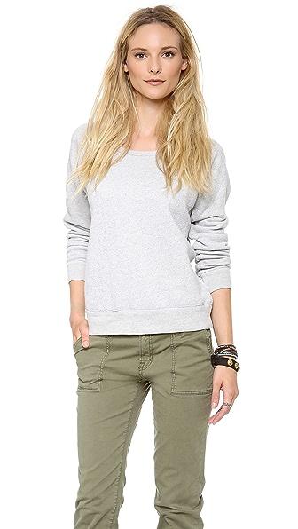 TEXTILE Elizabeth and James Patch Perfect Sweatshirt