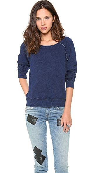 TEXTILE Elizabeth and James Patch Perfect Sweater