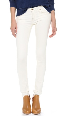 TEXTILE Elizabeth and James Debbie Coated Skinny Jeans