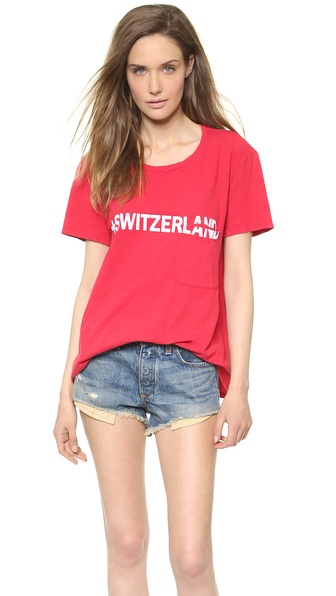TEXTILE Elizabeth and James Switzerland Bowery Tee