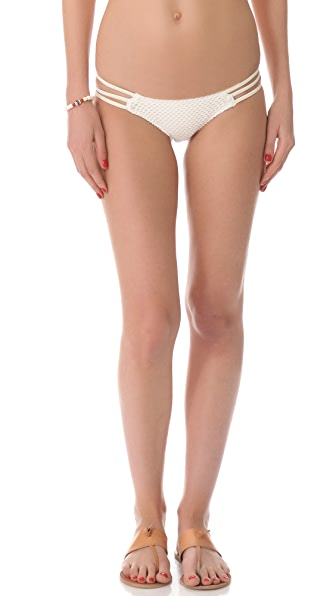 Tyler Rose Swimwear Circle Dance Mesh Bikini Bottoms