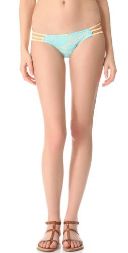 Tyler Rose Swimwear Not Make Believe Lace Bikini Bottoms