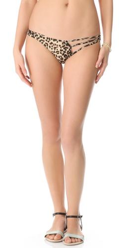 Tyler Rose Swimwear Beauty & The Beast Leopard Bikini Bottoms