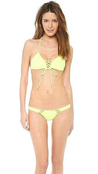 Tyler Rose Swimwear Bradford Triangle Bikini Top