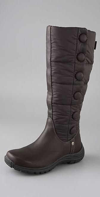 UGG Australia Lonnie Nylon Puffer Boots