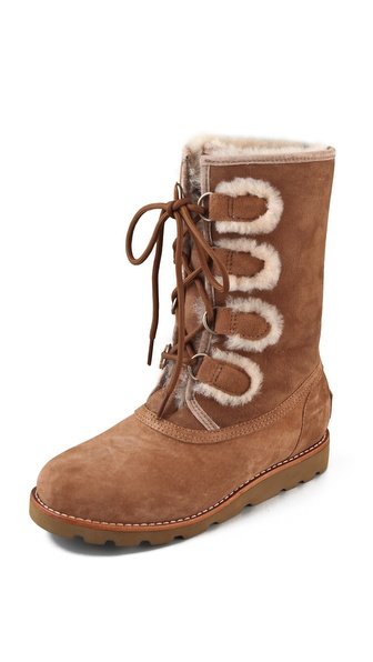 UGG Australia Rommy Lace Up Boots