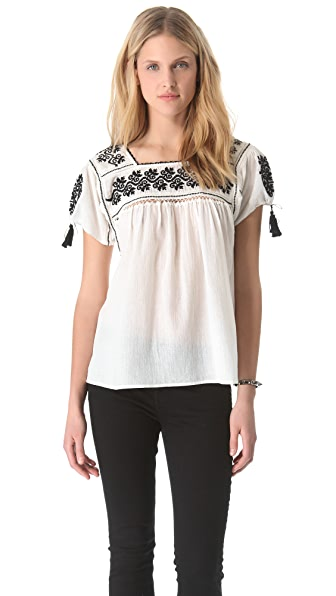 Ulla Johnson Alexa Blouse