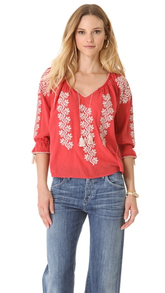 Ulla Johnson Ophelia Blouse