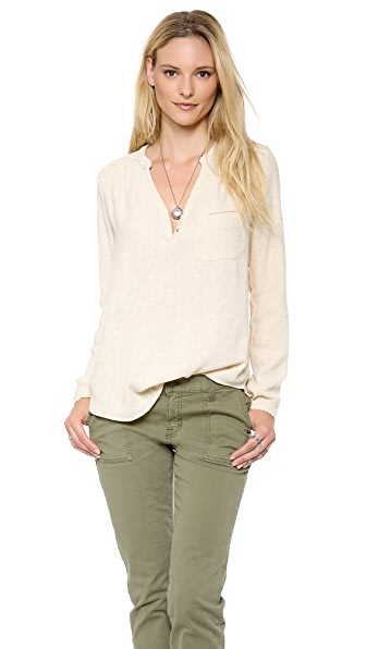 Ulla Johnson Linnea Blouse