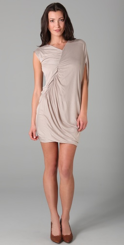 under.ligne by doo.ri Side Drape Dress