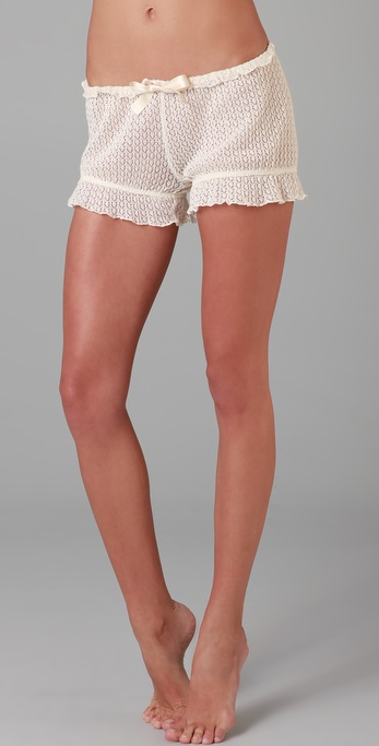 Undrest Pointelle Bloomer Shorts