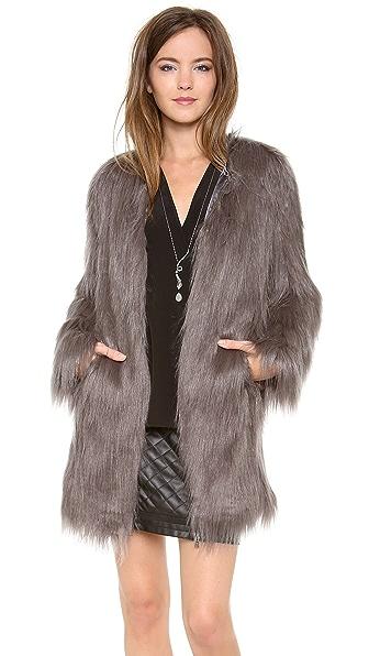 Unreal Fur Wanderlust Faux Fur Coat