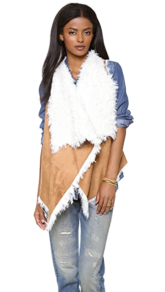 Unreal Fur Fur Enough Reversible Vest