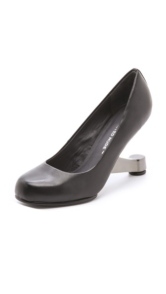 United Nude Eamz Invisible Heel Pumps