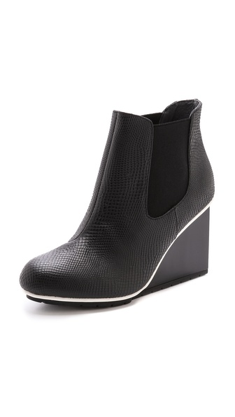 United Nude Solid Chelsea Wedge Bootie