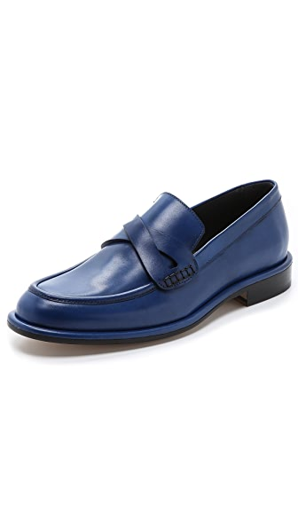Viktor & Rolf Leather Loafer Shoes