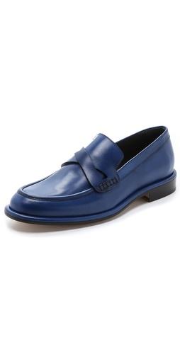 Viktor  Rolf Leather Loafer Shoes