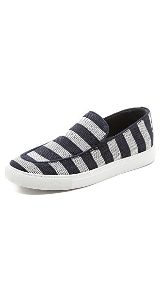 Viktor & Rolf Striped Deck Shoes