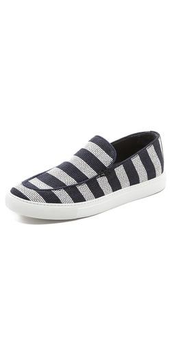 Viktor  Rolf Striped Deck Shoes